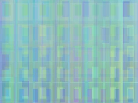 Square square pastel of rain