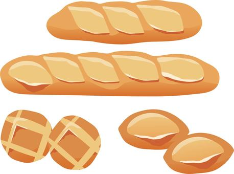 French bread set