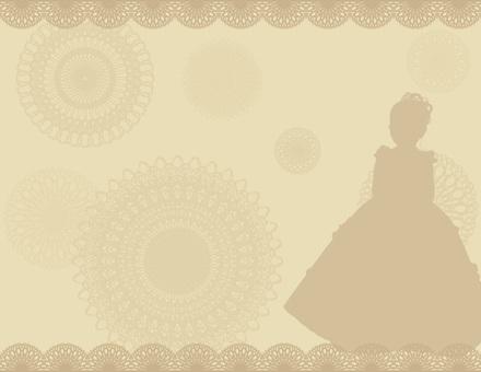 Dress _ Background Brown