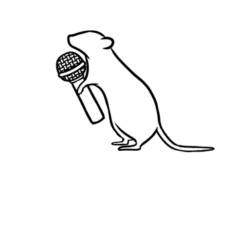 Mouse line drawing with microphone