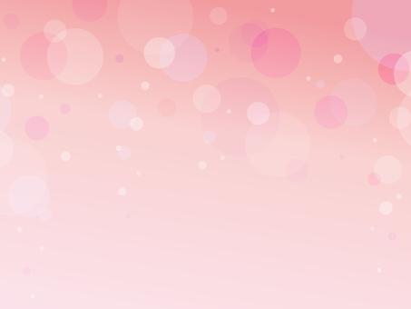 Polka dot pink background material