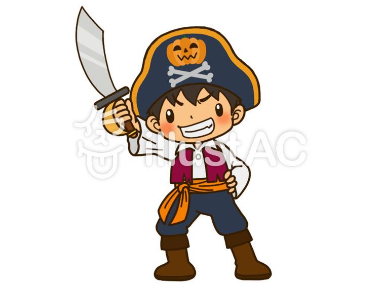 海賊の仮装イラスト No 94991無料イラストならイラストac