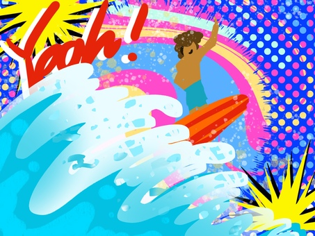 Surfer surfer sea