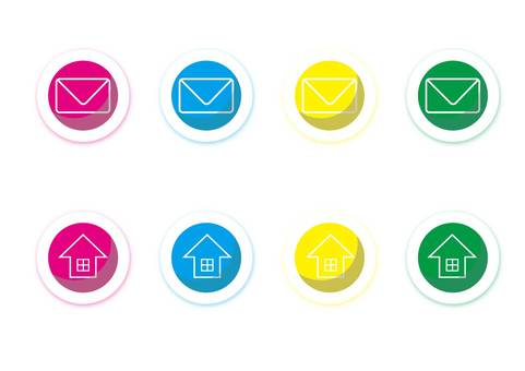 Icon (mail · home)