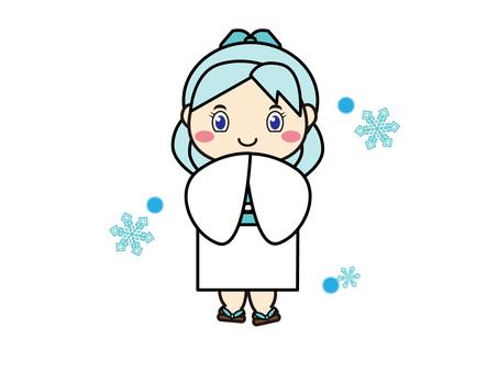 Youkai Snow Woman