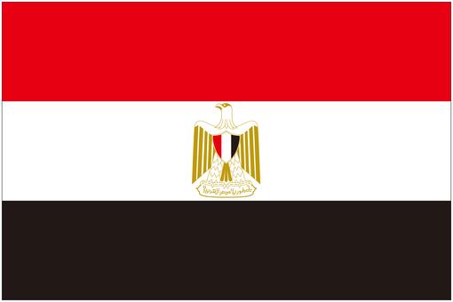 エジプト 国旗