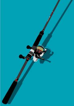Fishing rod (Eging rod)