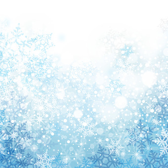 Snow flake background material