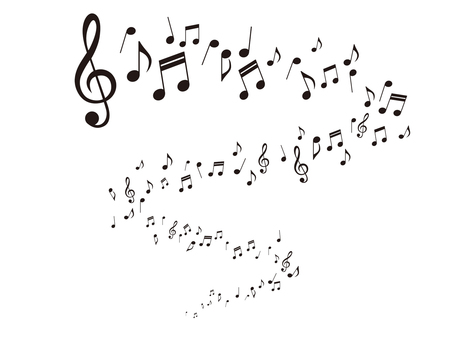 Musical note illustration _3