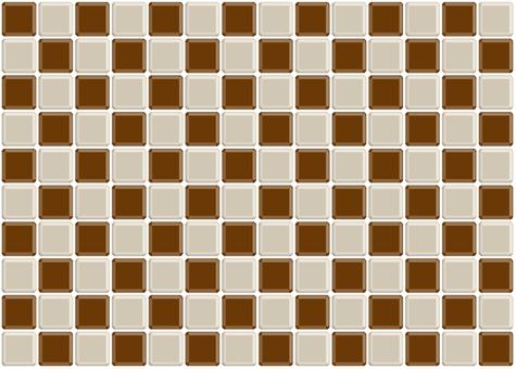 Checkered Tile Chocolate