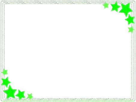 Star frame (Yellow Green)