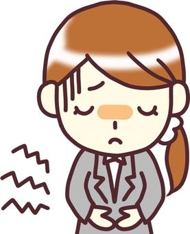 [여성 정장] 아래 _ 복통