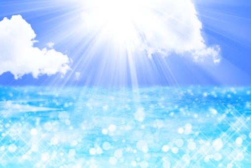 The sea and the sun (light weakening)