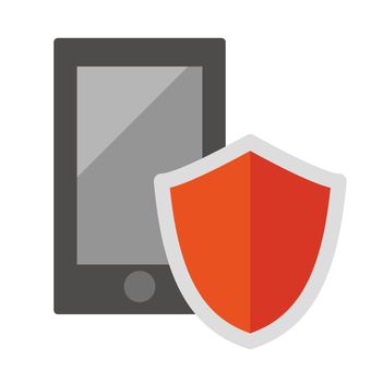 Smartphone and shield security antivirus