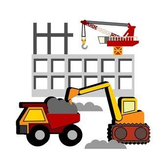 건설 기계 및 건설 현장 1