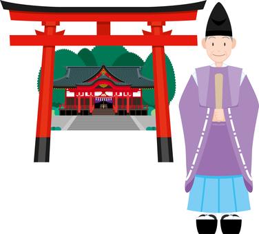 神道公主神社鳥居