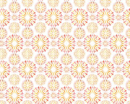 불꽃 패턴