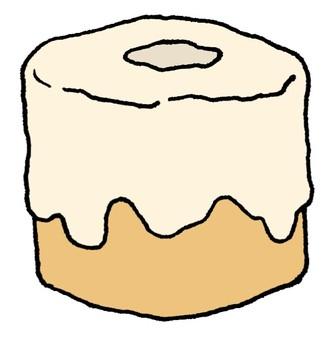 Donut shaped cake