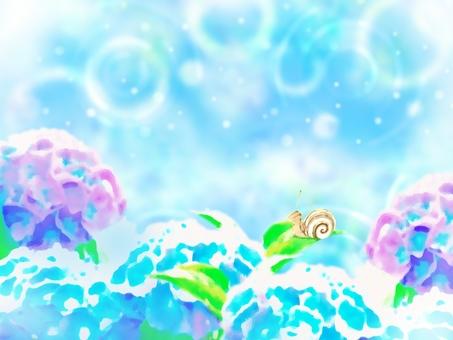 Hydrangea Snails