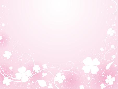 Background peach color - Clover
