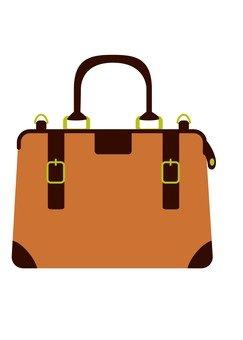 Boston bag (brown)