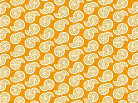 Citrus pattern wallpaper