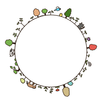 Planting circle