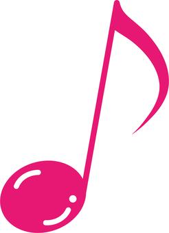 8 분 음표 /8th.note_pink