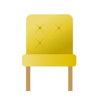 Yellow chair 2