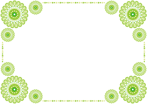 Frame - Pretty Hua - Green