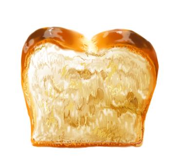 美味的麵包(背景透明PNG)
