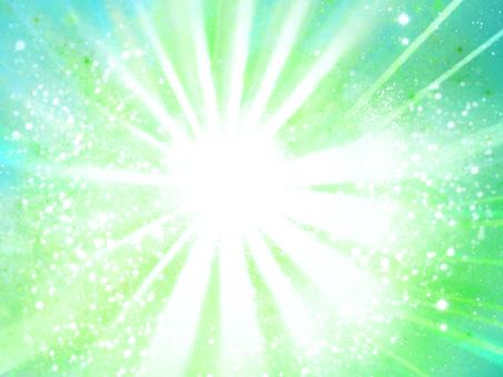 Green sparkling background