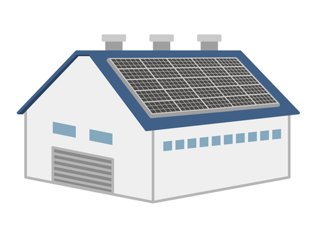 Factory and solar power generation