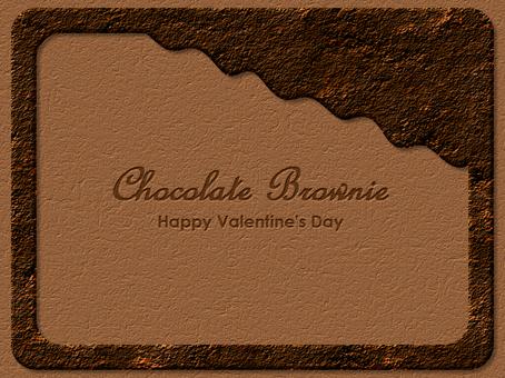 巧克力布朗尼框架高級鏤空