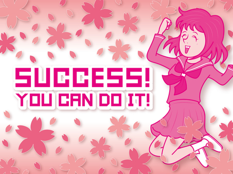 success_girl student