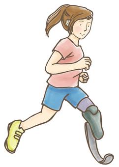Prosthesis Runner