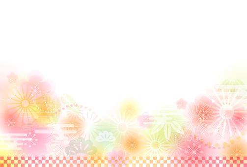 【Ai, png, jpeg】 Year-shaped material 78