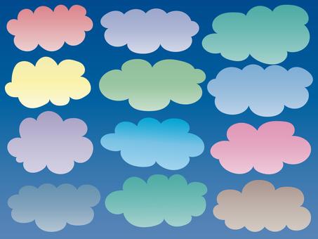 Pastel clouds