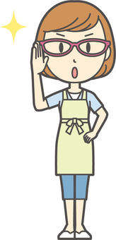 Apron youth Bob-166-whole body