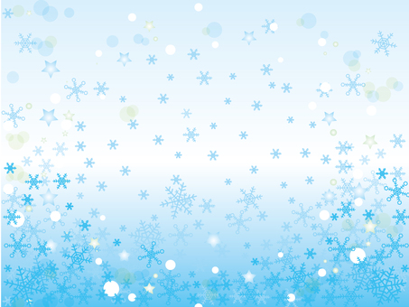 Snow crystal _ winter background 2