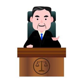 Male presiding judge
