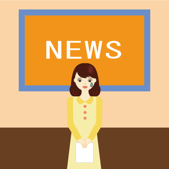 News program (female announcer)
