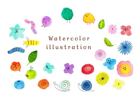 Watercolor illustration 1