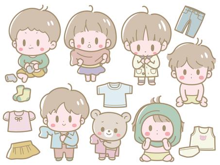 Child's Clothes Set