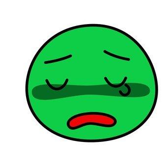 悲傷的臉人物5