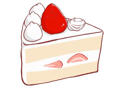 草莓短蛋糕