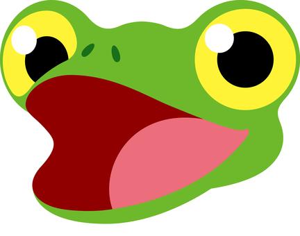 Frog expression speaks