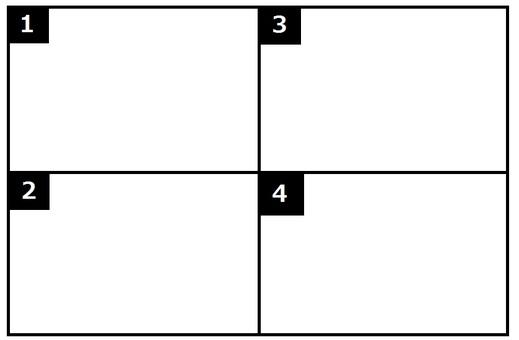 4 Comic Manga theme