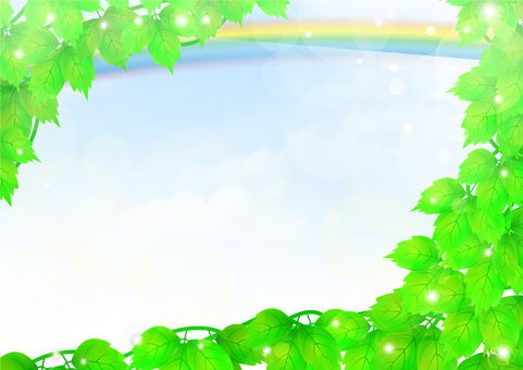 Green Background / Back