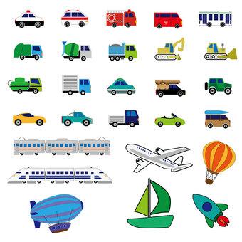 Vehicle set-color